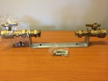 """Vodoměrná sestava pro vodoměr 3/4"""" L=295mm"""