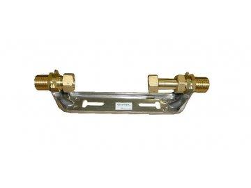 Držák pozinkovaný pro vodoměr Qn 2,5 L=165mm