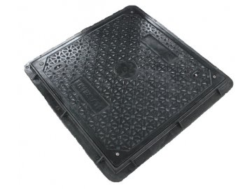 Poklop čtvercový 600x600 - pochozí