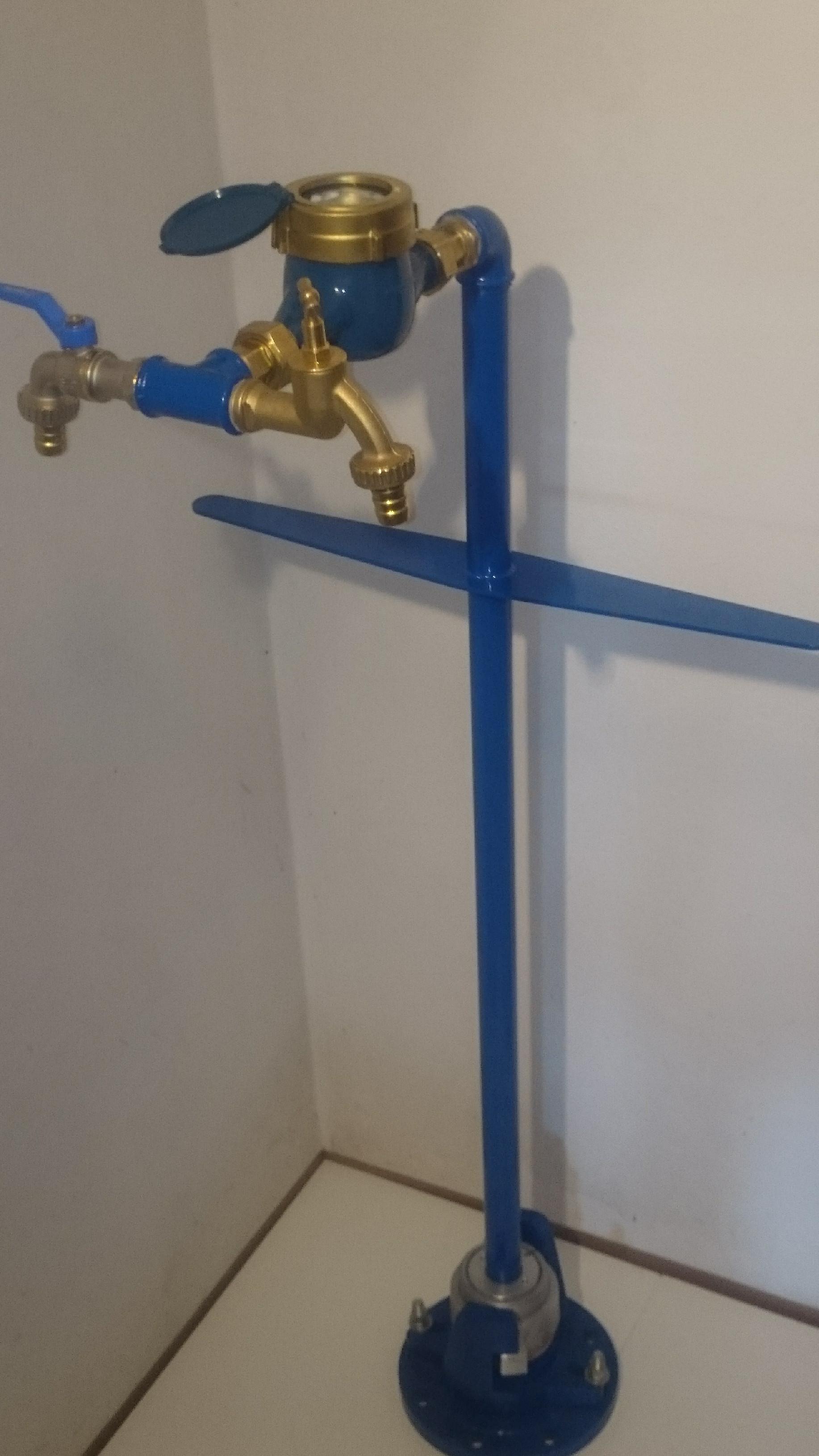 Hydrantový vodoměr - výtokový stojan