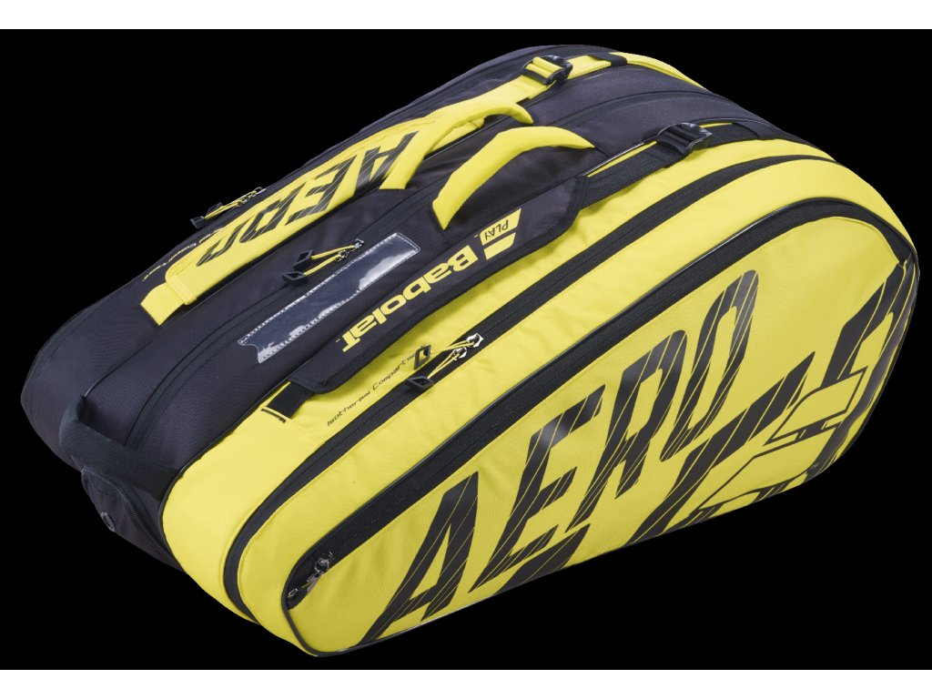 751211 RH x 12 PURE AERO 142 black yellow 3 4 backside