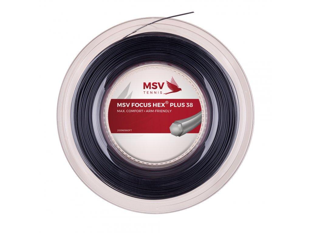 MSV Focus Hex Plus 38 200m Black