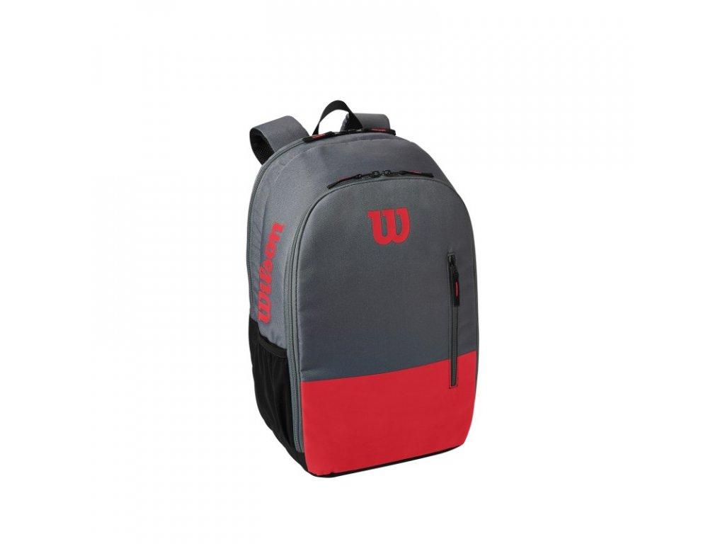 batoh na rakety wilson team backpack red grey 94791 g0