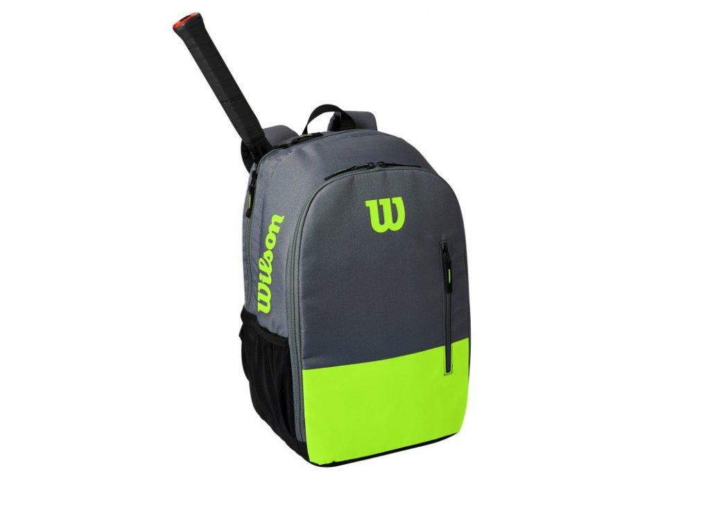 batoh na rakety wilson team backpack green grey 94790