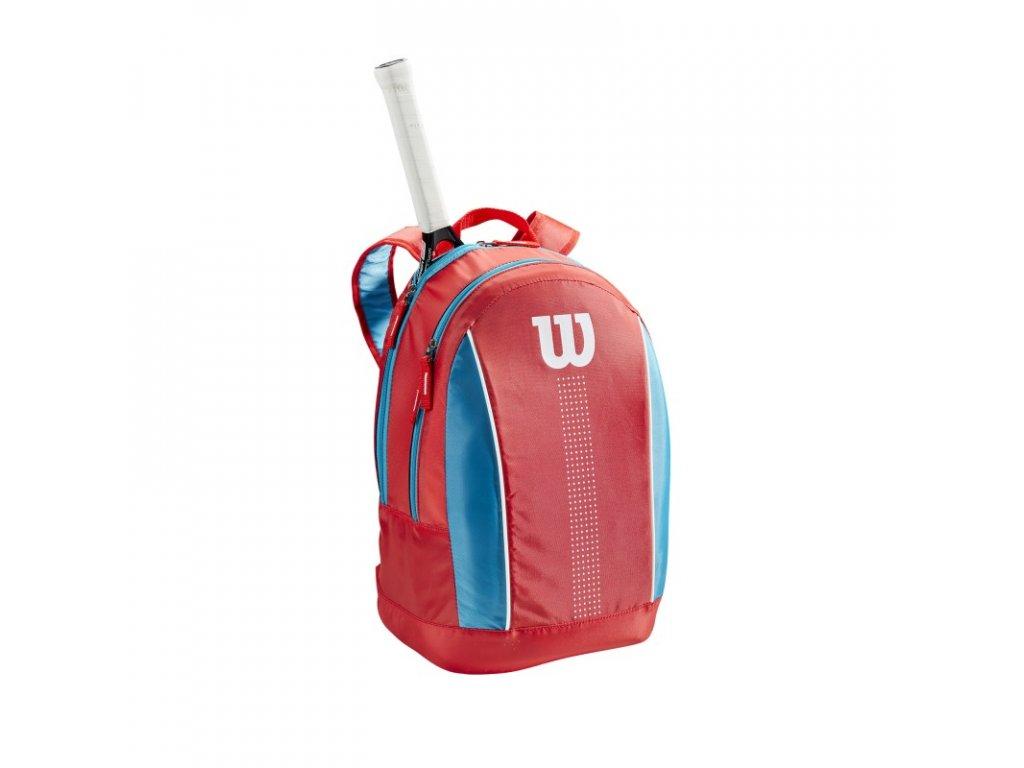 detsky batoh na rakety wilson junior backpack coral blue 95554