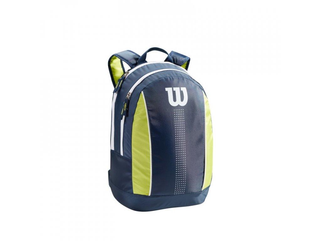 detsky batoh na rakety wilson junior backpack navy lime green 94780 g0