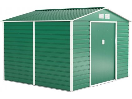 G21 GAH 706, Zahradní domek 277 x 255 cm, zelený