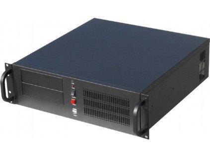 Gembird 19'' serverové šasi ATX 19''/3U, černé