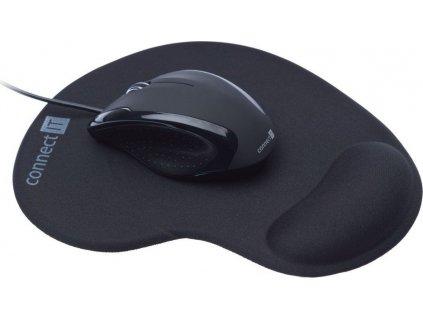 Connect IT CI-77 myš 3023 optická+gelová podlo