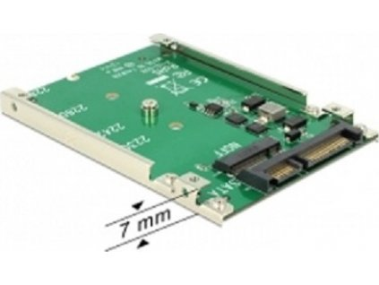 """Delock 2.5"""" Konvertor SATA 22 Pin > M.2 NGFF (62544)"""