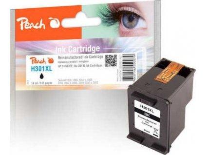 Peach H301XL černá kompatibilní s HP No. 301XL, CH563EE (PI300-282)