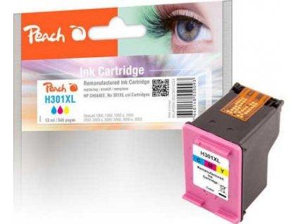 Peach H301XL barevná kompatibilní s CH564EE, No. 301XL