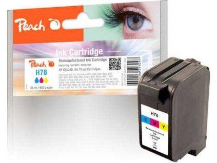Peach H78 barevná kompatibilní s HP No. 78, C6578D