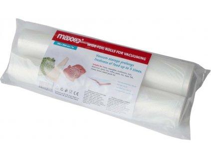 MAXXO Náhradní rolky Maxxo do vakuovacích baliček 28x300cm 2ks