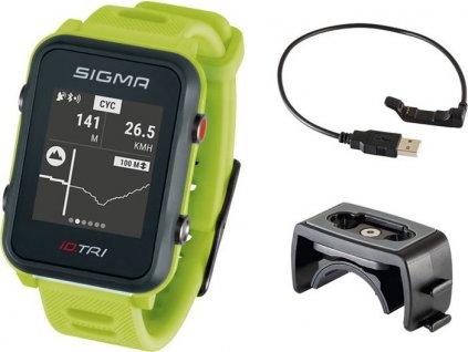 SIGMA iD.TRI Basic - neon zelená