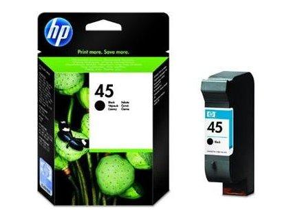 HP 45 Black (42ml) pro DJ 7xxC,8xx,11xx,6xx (51645AE) - originální