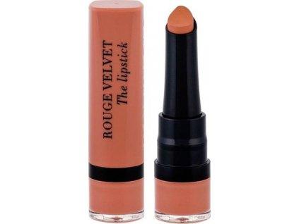 Bourjois Paris Rouge Velvet The Lipstick 2,4g - 01 Hey Nude!