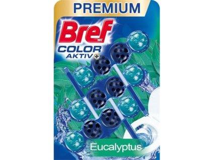 Bref WC blok Color Aktiv Eucalyptus 3x50g