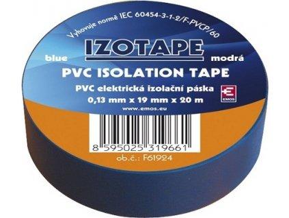 Izolační páska na kabely PVC 19/20 modrá
