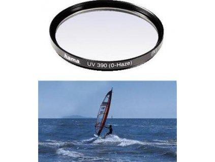 HAMA filtr UV 0-HAZE M 58, černý (70058)