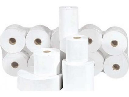 Papírový kotouček - termopapír Š57/N50/D12/30m