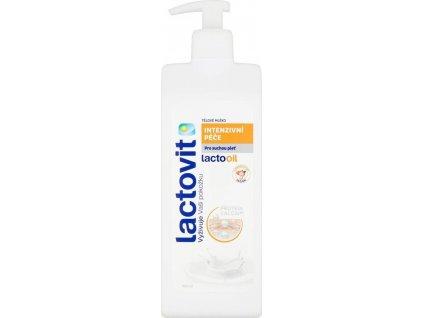 Lactovit LACTOOIL Tělové mléko Intenzivní péče 400ml