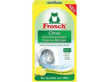 Frosch EKO Hygienický čistič pračky Citrón (250g)