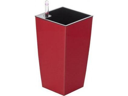 Samozavlažovací květináč G21 Linea mini červený 26 cm