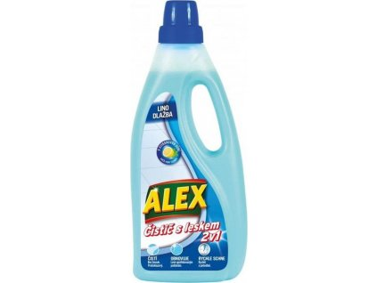 Alex čistič a extra lesk 2v1 na vinyl, dlažbu a lino 750ml