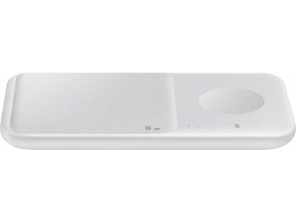 Samsung bezdrátová duální nabíječka Power EP-P4300T bez kabelu bílá