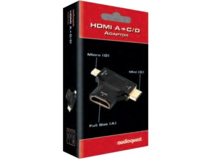 Audioquest HDMI A - C&D adaptér