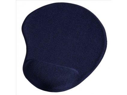 Hama ergonomická gelová podložka pod myš, modrá (54778)
