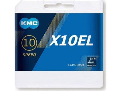 KMC X10 EL -  10 rychlostí - spojka - 114 článků