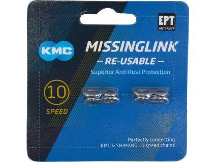 spojka řetězu KMC X10 rychlostí - 2ks