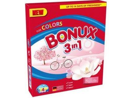 Bonux prací prášek Color Pure Magnolia 4 PD/0,3kg