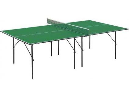 GARLANDO stůl na stolní tenis BASIC, zelený, vnitřní použití, záruka 3 roky