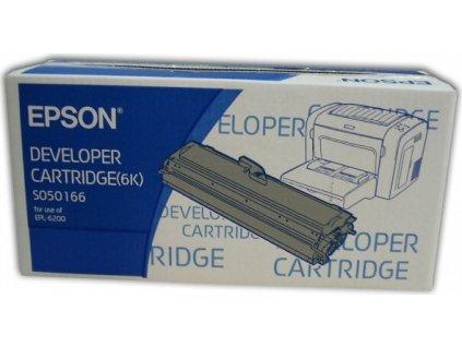 Epson S050166 Black toner (až 6000 stran) pro EPL-6200, EPL-6200N - originální