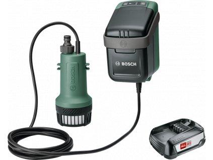 Bosch GardenPump 18 Aku čerpadlo na dešťovou vodu