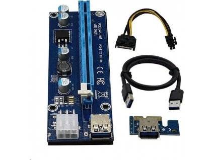 C-TECH PCI-Express riser RC-PCIEX-01C