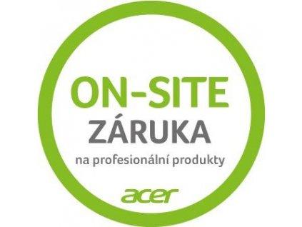 Acer Rozšíření záruky na 2 roky on-site TravelMate