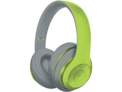 Omega FREESTYLE FH0916GG bluetooth sluchátka s microSD, zelená