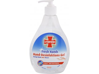 Lysoform Fresh Hands dezinfekční gel na ruce 480ml