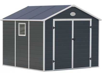 G21 PAH 670, Zahradní domek 241 x 278 cm, šedý