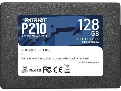 "Patriot P210 128GB 2.5"" SATA3 SSD"