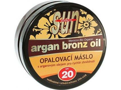 Sun Vital opalovací máslo s BIO arganovým olejem SPF 20
