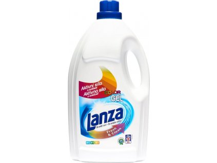 Lanza Fresh&Clean Gel na barevné prádlo 4,5 l / 90 pracích dávek