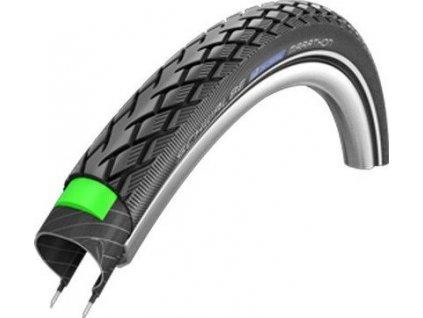 Schwalbe Marathon 26x1.75 GreenGuard černá+reflexní pruh