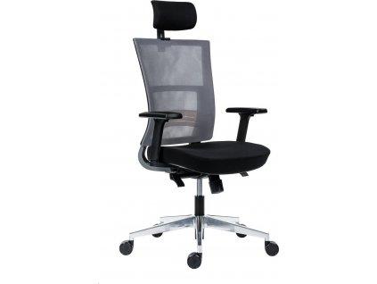 Kancelářská židle Antares Next PDH černá