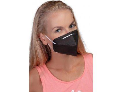 GoodMask GM2 respirátor FFP2 - 10ks černá