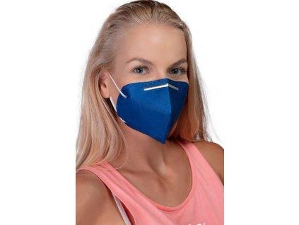 GoodMask GM2 respirátor FFP2 - 10ks tmavě modrá